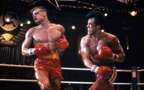 Sylvester Stallone et Dolph Lundgren