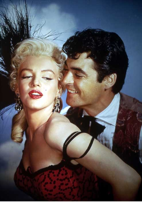 Rivière sans retour : Photo Marilyn Monroe, Otto Preminger, Rory Calhoun