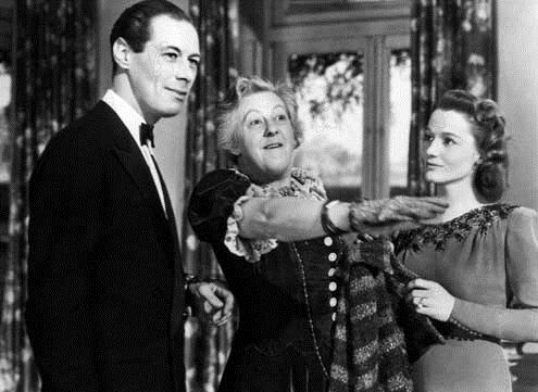 Rex Harrison, Margaret Rutherford et Constance Cummings