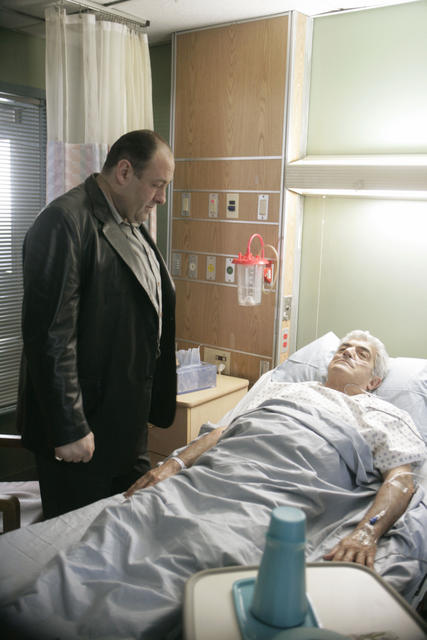 Les Soprano : Photo Frank Vincent, James Gandolfini