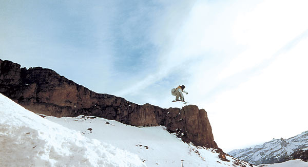 Snowboarder : Photo Olias Barco