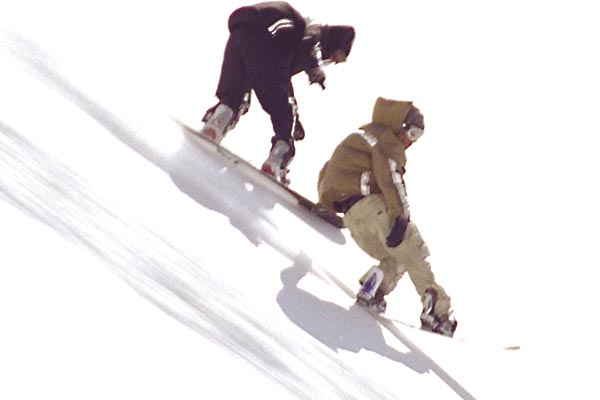 Snowboarder : Photo Olias Barco