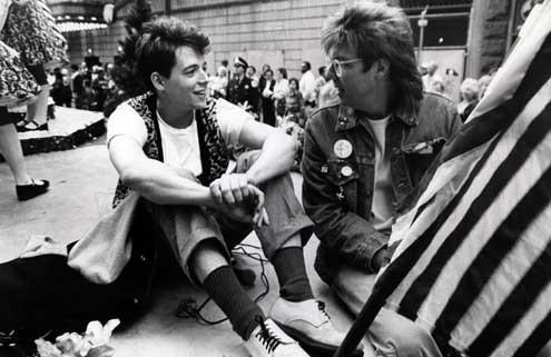 La Folle journée de Ferris Bueller : Photo John Hughes, Matthew Broderick