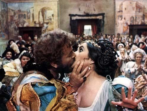 La Mégère apprivoisée : Photo Elizabeth Taylor, Franco Zeffirelli, Richard Burton