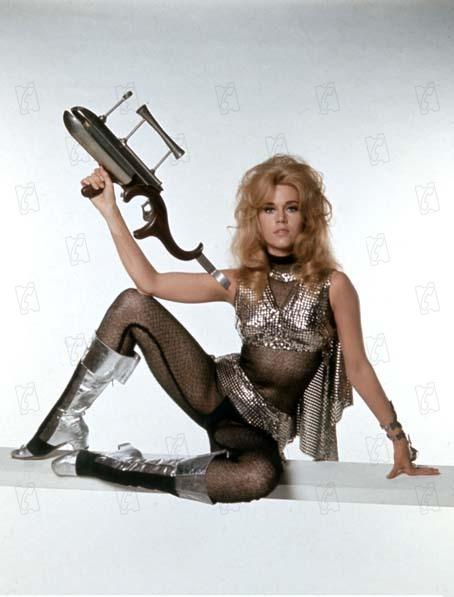 Barbarella : Photo Jane Fonda, Roger Vadim
