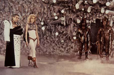 Barbarella : Photo Jane Fonda, Milo O'Shea, Roger Vadim