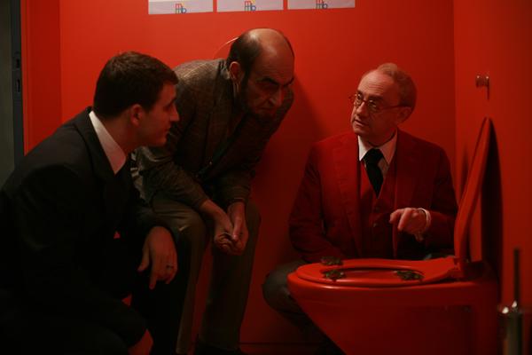 Sebastian Barrio, Philippe Khorsand et Michel Blanc