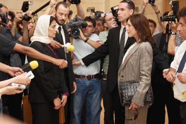 Les Citronniers : Photo Ali Suliman, Eran Riklis, Hiam Abbass, Rona Lipaz Michael