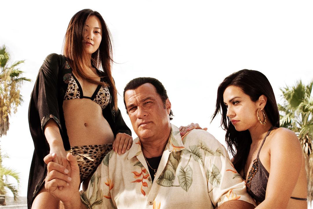 Cheryl Chin, Steven Seagal & Tina Rodriguez