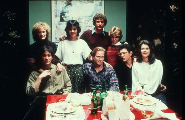 Les Copains d'abord : Photo Glenn Close, Jeff Goldblum, Kevin Kline, Lawrence Kasdan, Mary Kay Place
