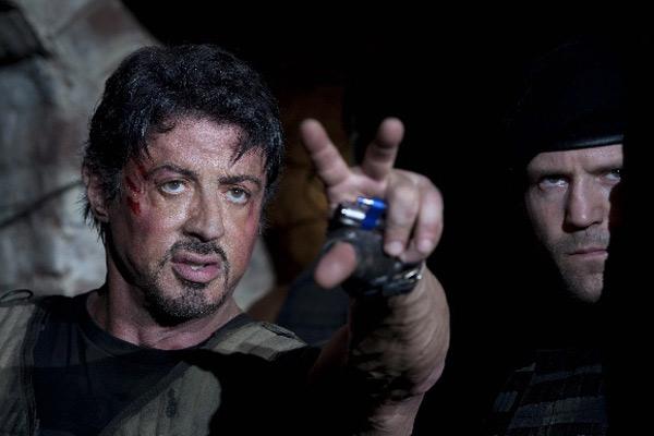 Sylvester Stallone et Jason Statham