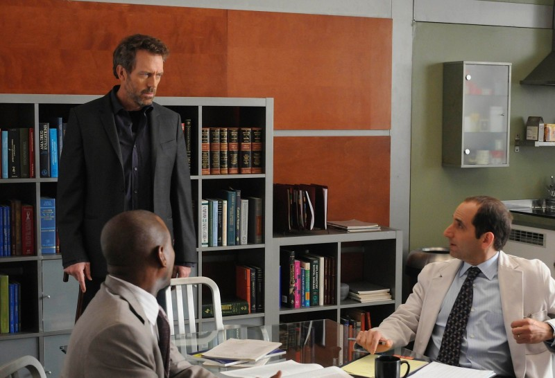 Dr House : Photo Hugh Laurie, Omar Epps, Peter Jacobson