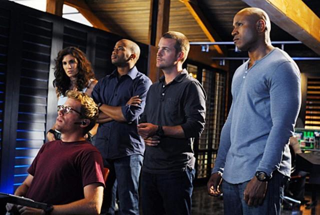 NCIS: Los Angeles : Photo Adam Jamal Craig, Barrett Foa, Chris O'Donnell, Daniela Ruah, LL Cool J