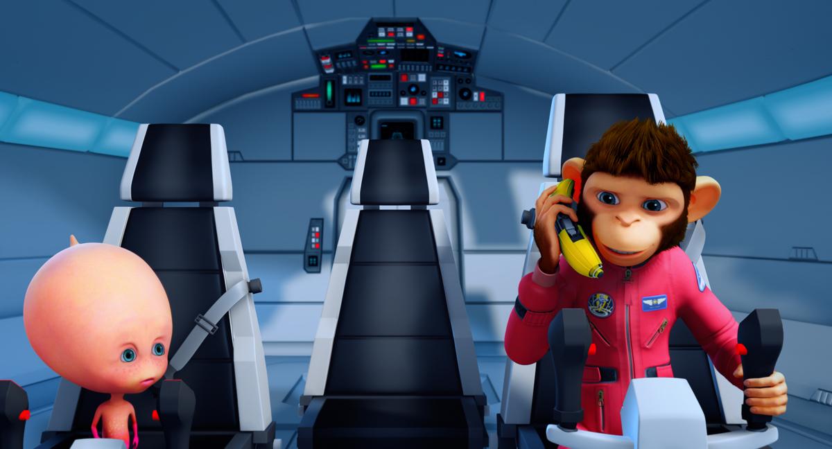 Les Chimpanzés de l'espace 2: John H. Williams