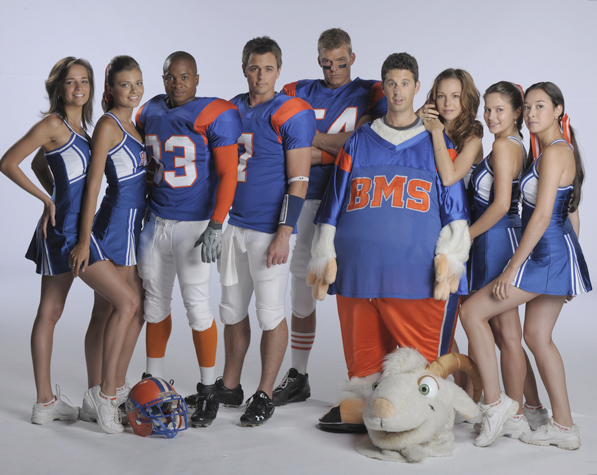 Blue Mountain State : Photo Alan Ritchson, Chris Romano (II), Darin Brooks, Sam Jones III