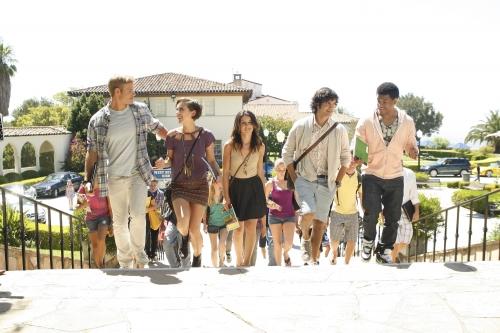 90210 Beverly Hills Nouvelle Génération : Photo Jessica Stroup, Michael Steger, Shenae Grimes-Beech, Trevor Donovan, Tristan Wilds