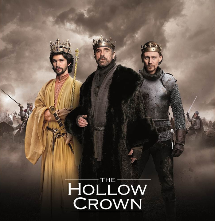 The Hollow Crown : Photo Ben Whishaw, Jeremy Irons, Tom Hiddleston
