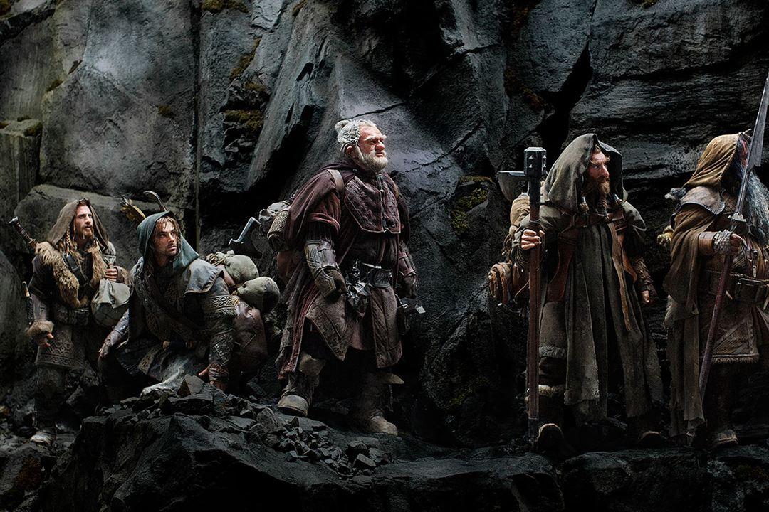 Le Hobbit : un voyage inattendu : Photo Aidan Turner, Dean O'Gorman, Jed Brophy, Mark Hadlow, William Kircher
