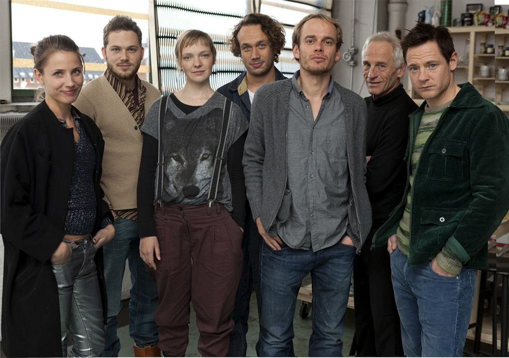 Photo Elmer Bäck, Johan Leysen, Paw Henriksen, Teun Luijkx, Thomas Ryckewaert