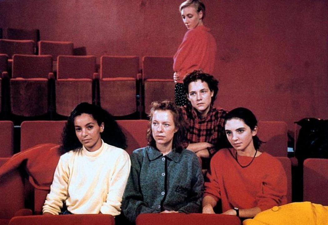 La Bande des quatre : Photo Bernadette Giraud, Fejria Deliba, Ines de Medeiros, Laurence Côte, Nathalie Richard