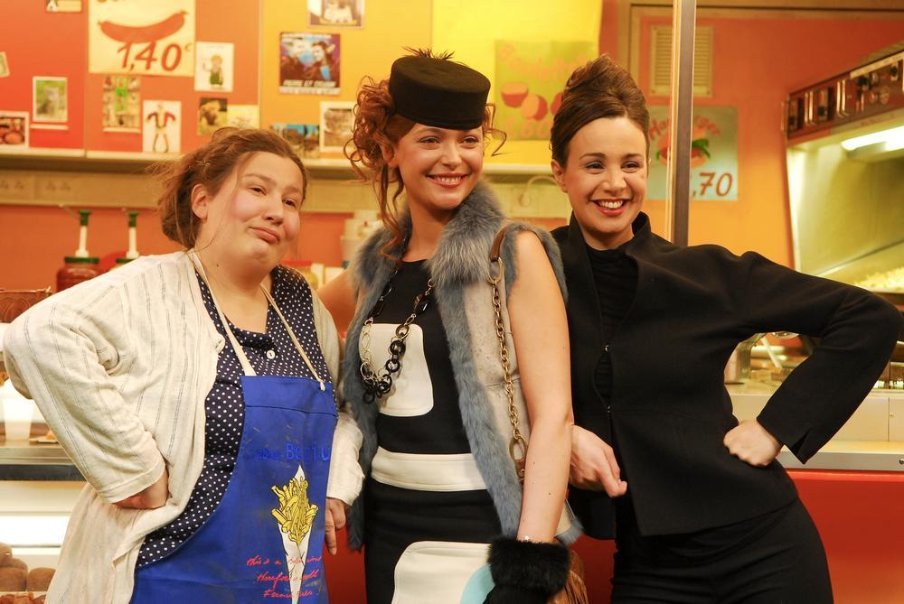 Photo Christelle Delbrouck, Myriem Akheddiou, Sandrine Quétier