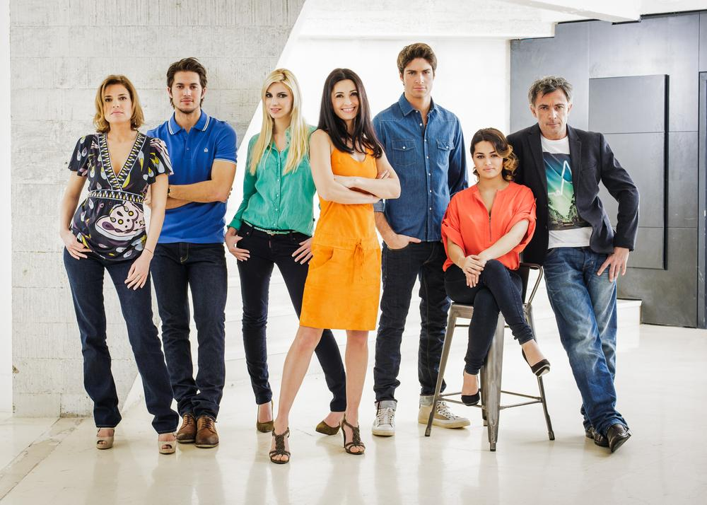 Photo Adeline Blondieau, Christine Lemler, Delfine Rouffignac, Frederic Deban, Lucas Bravo