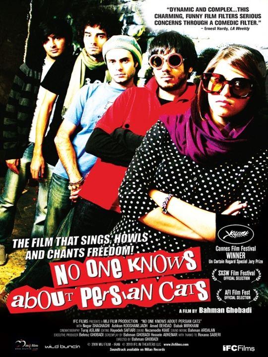 Les Chats persans : Affiche