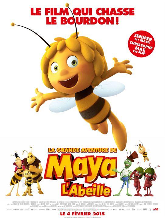 La Grande aventure de Maya l'abeille - Sortie le 4 février 2015