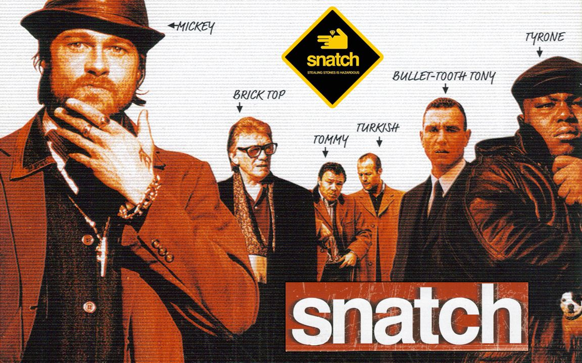 Snatch va devenir une série avec...