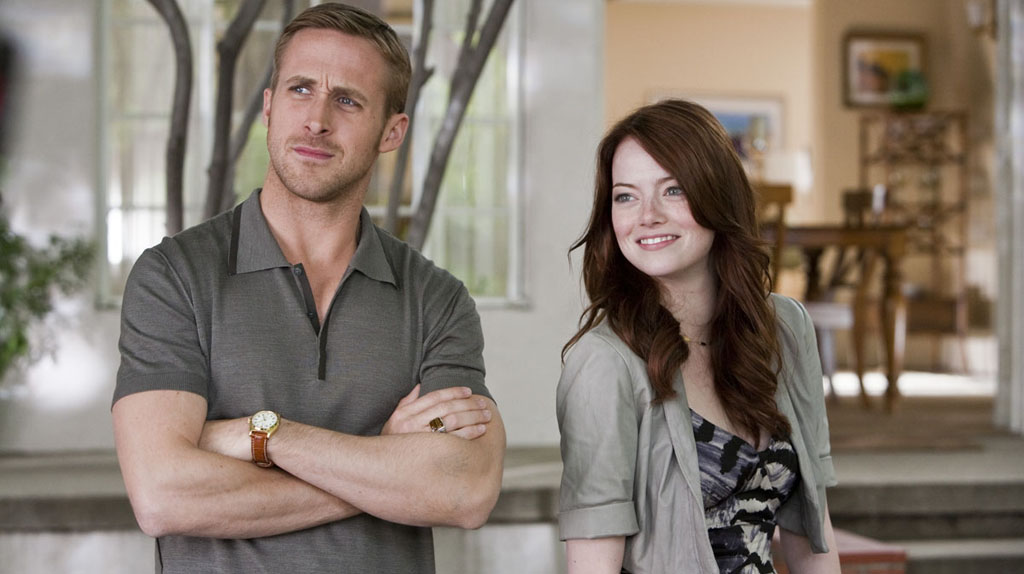 Crazy Stupid Love : Ryan Gosling et Emma Stone, tout sourire