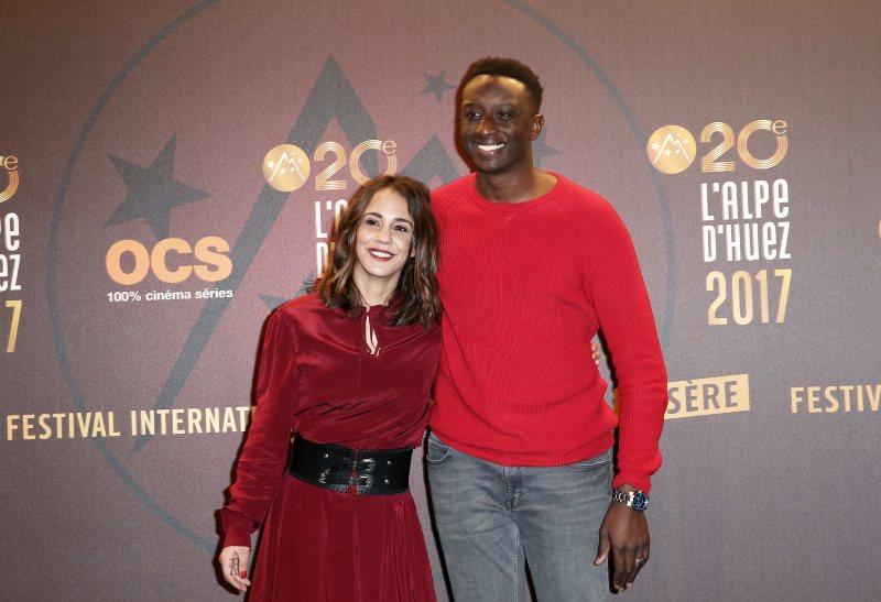 Alice Belaïdi et Ahmed Sylla