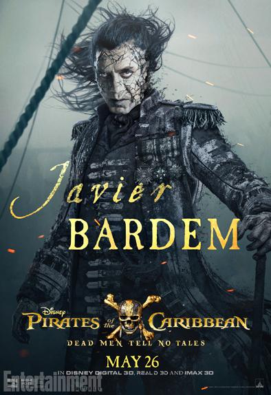 Javier Bardem est le Capitaine Salazar