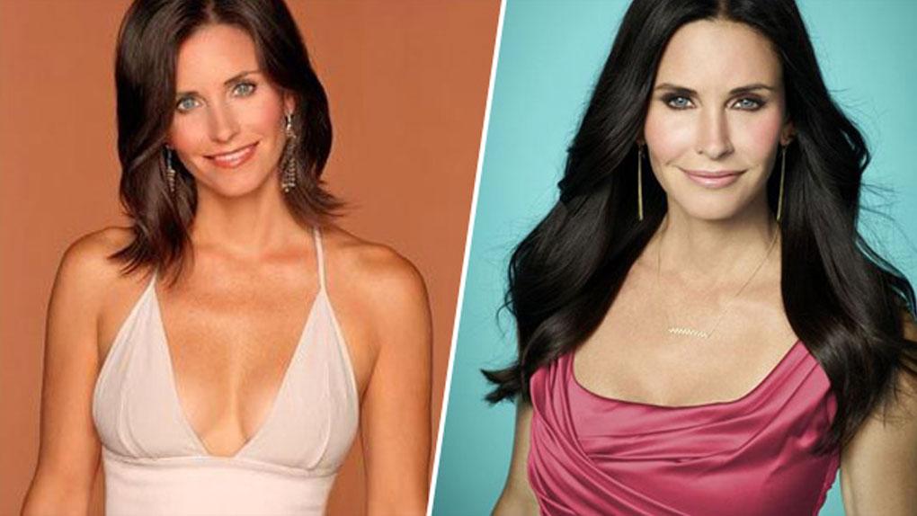 Monica Geller (Friends) de 1994 à 2004 / Jules Cobb (Cougar Town) de 2009 à 2015