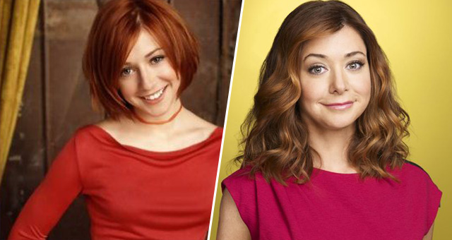 Willow Rosenberg (Buffy contre les vampires) de 1997 à 2003 / Lily Aldrin (How I Met Your Mother) de 2005 à 2014