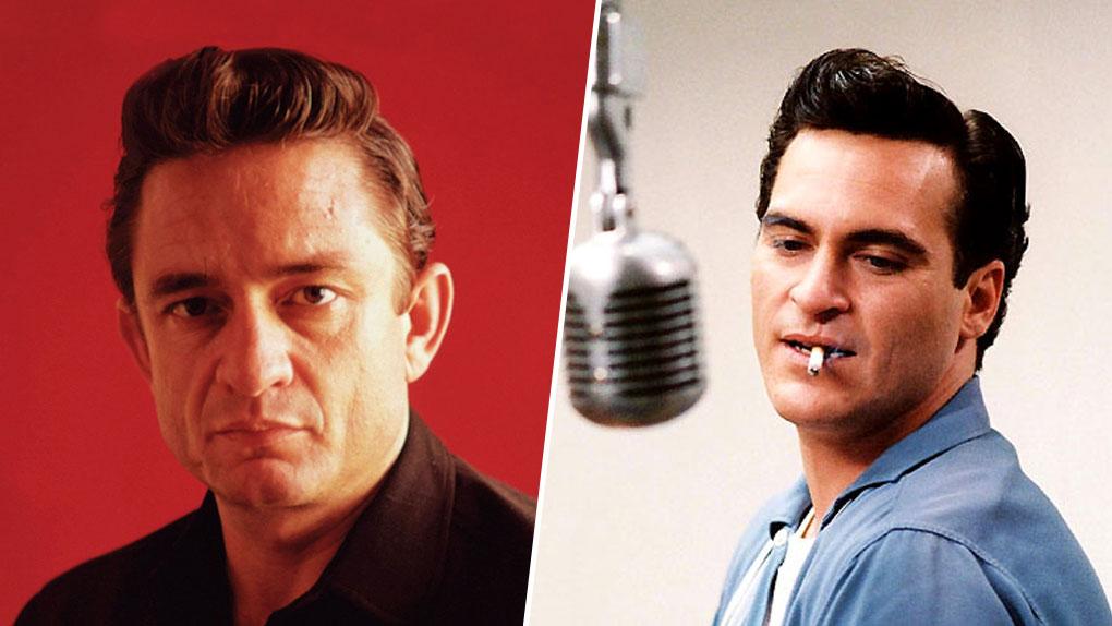 Johnny Cash, interprété par Joaquin Phoenix