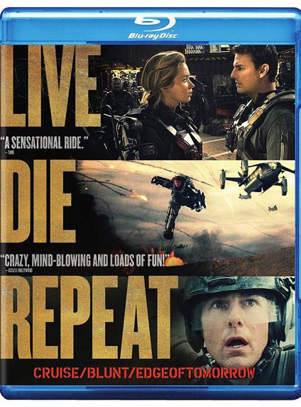 Le Blu-ray, titré Live Die Repeat