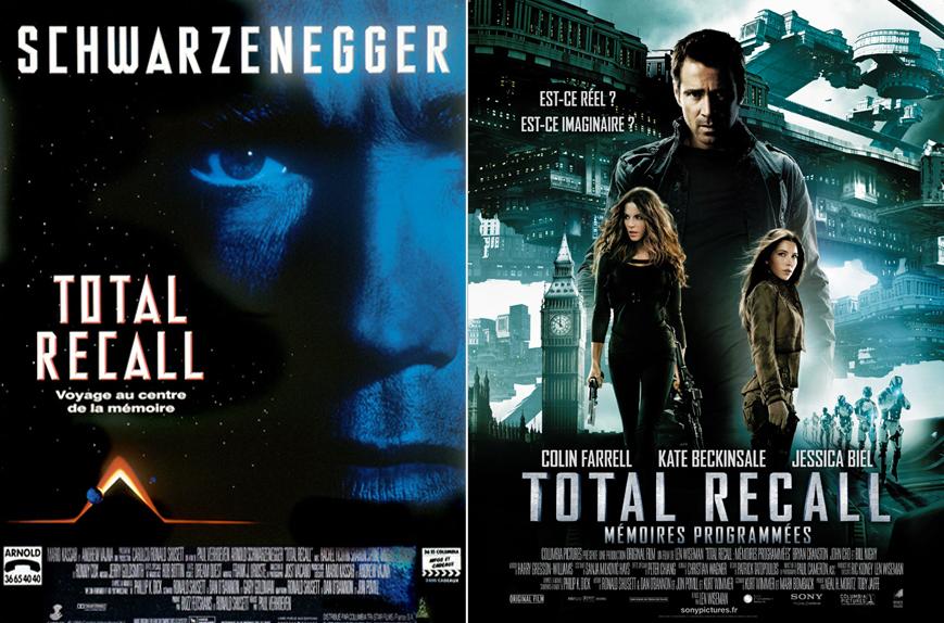 """Total Recall"" (1990) Vs ""Total Recall - mémoires programmées"" (2012)"