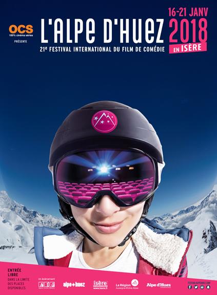 L'affiche du Festival de l'Alpe d'Huez 2018 se dévoile !