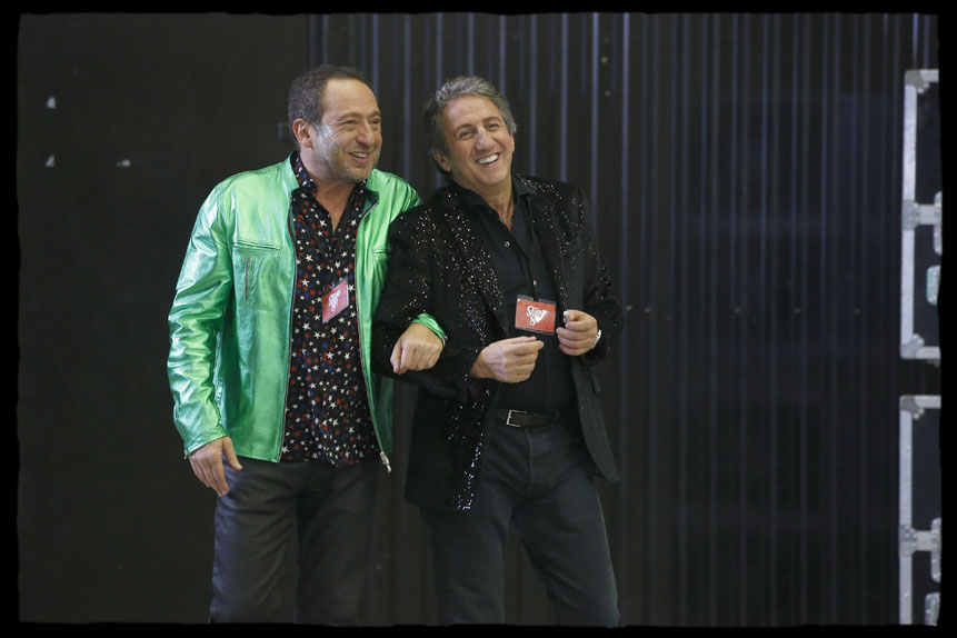 Stars 80, la suite de Thomas Langmann avec Richard Anconina, Patrick Timsit, Bruno Lochet...