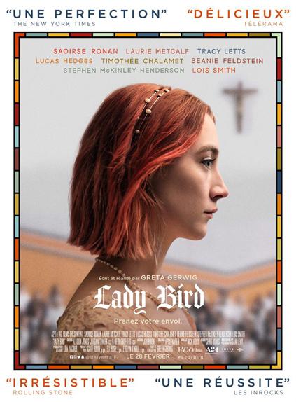 Lady Bird - 3 nominations
