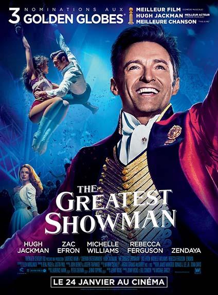 N°5 - The Greatest Showman : 6,4 millions de dollars de recettes