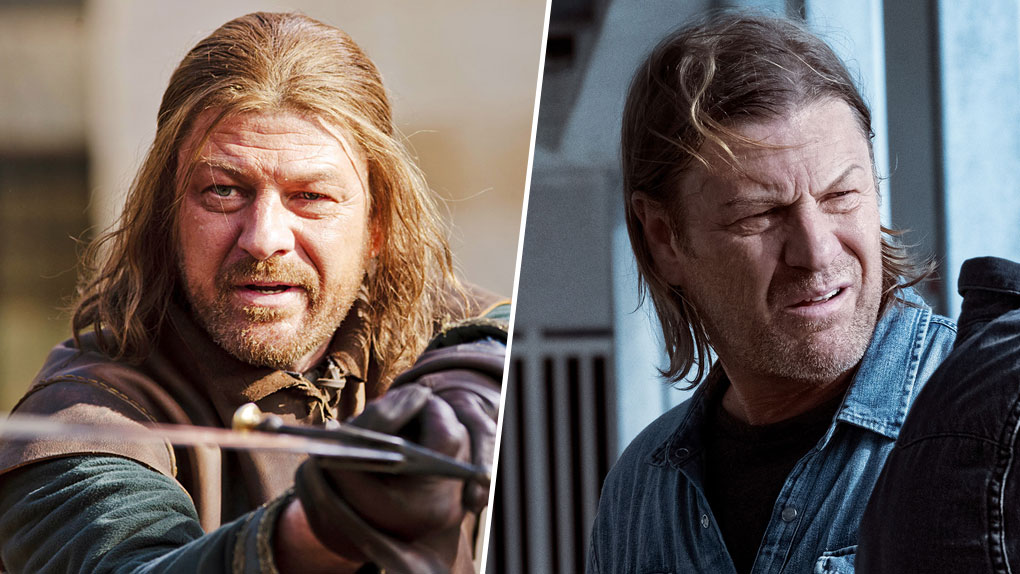 Sean Bean, alias Ned Stark