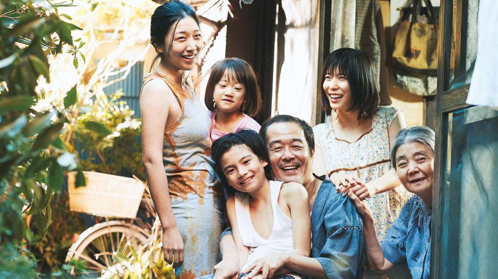 Palme d'Or : Une affaire de famille d'Hirokazu Kore-Eda