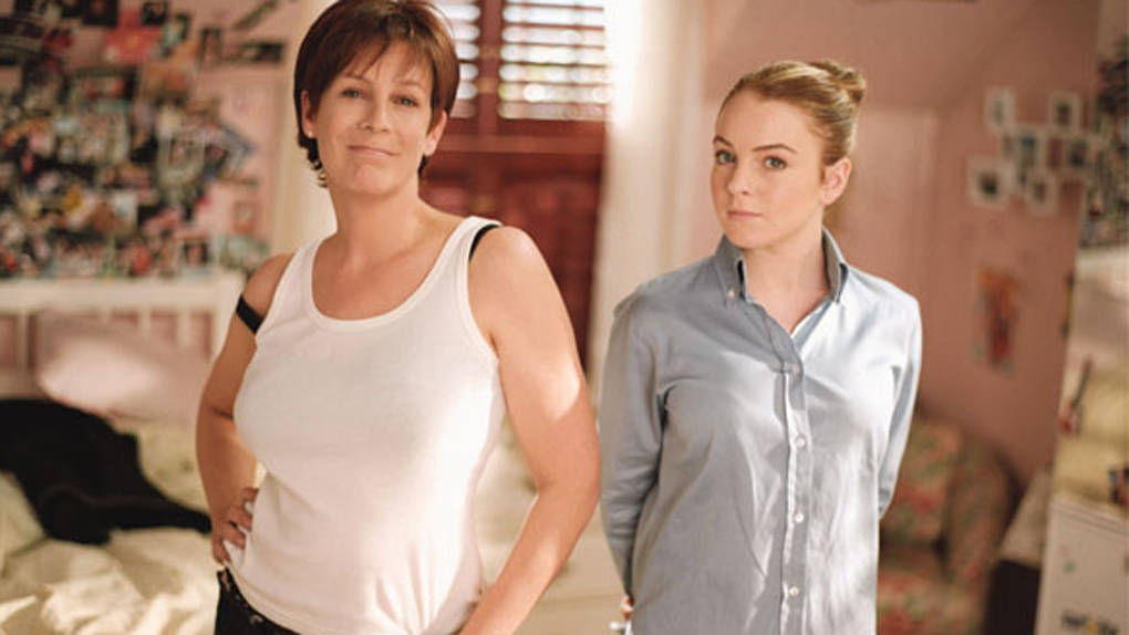 "Jamie Lee Curtis alias Tess Coleman dans ""Freaky Friday"""
