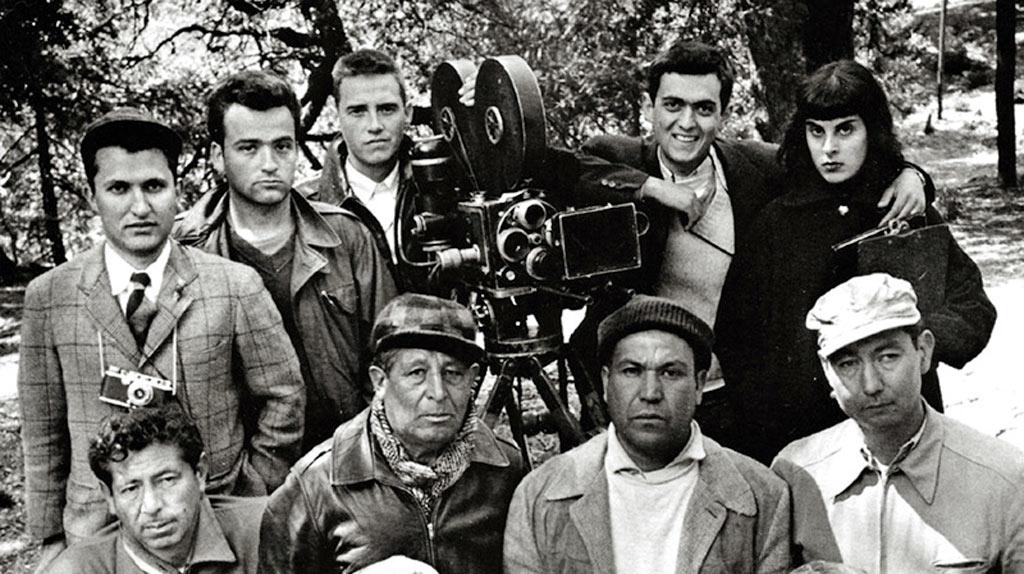 Stanley Kubrick sur le tournage de Fear And Desire