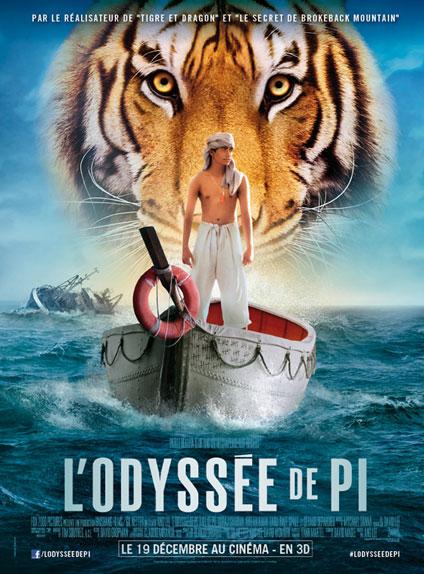 """""""L'Odyssée de Pi"""" s'appelle en VO..."""