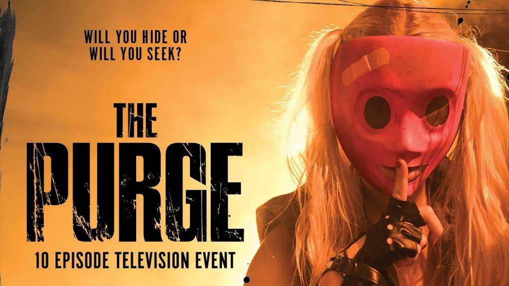 Les masques terrifiants sont de retour dans la série The Purge !