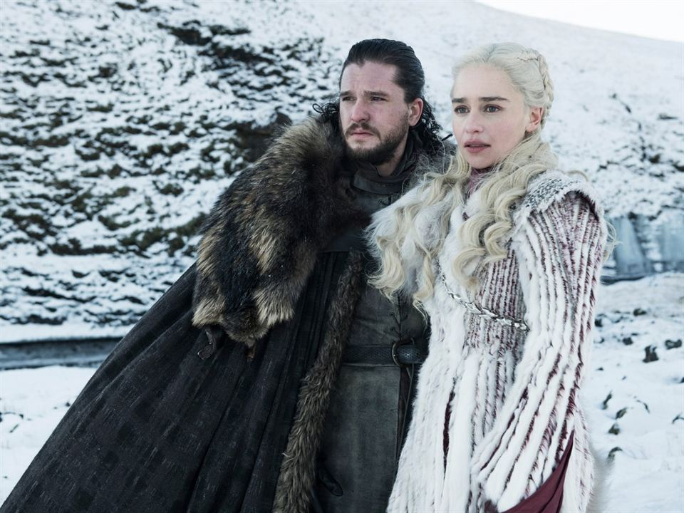 Jon Snow & Daenerys Targaryen - Saison 8