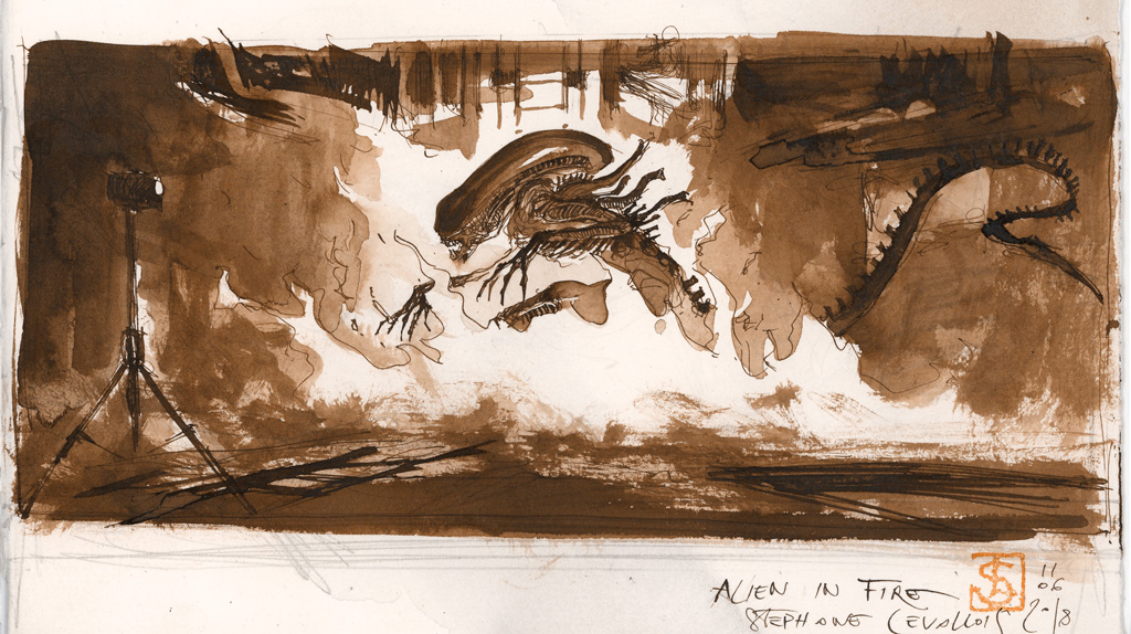 Illustration de Stéphane Levallois pour la série digitale