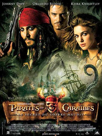 N°28 : Pirates des Caraïbes le Secret du Coffre Maudit : 1,066 milliard de dollars de recettes